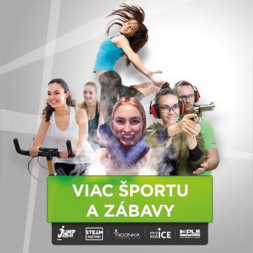 Viac športu a zábavy v Atrium Optima