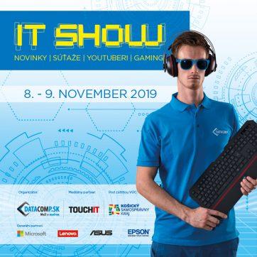 Muži v modrom vás pozývajú na IT Show!