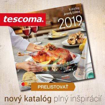 Prelistujte si nový Katalóg jeseň/zima 2019 od Tescomy