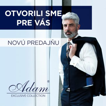 Otvorili sme pre Vás ADAM