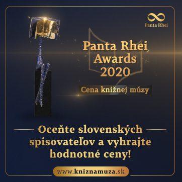 Panta Rhei Awards- Cena Knižnej múzy 2020