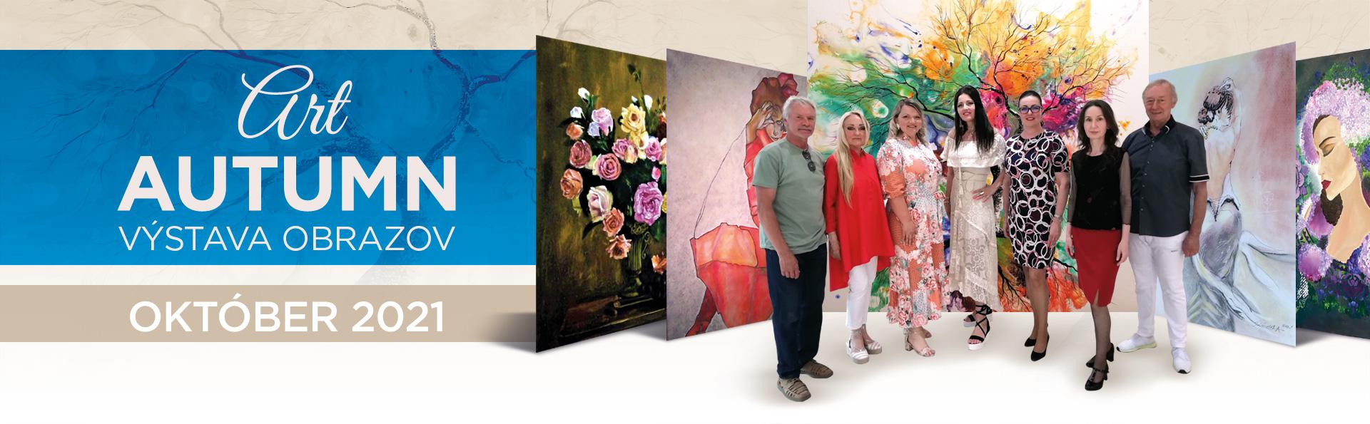 Art AUTUMN – výstava obrazov